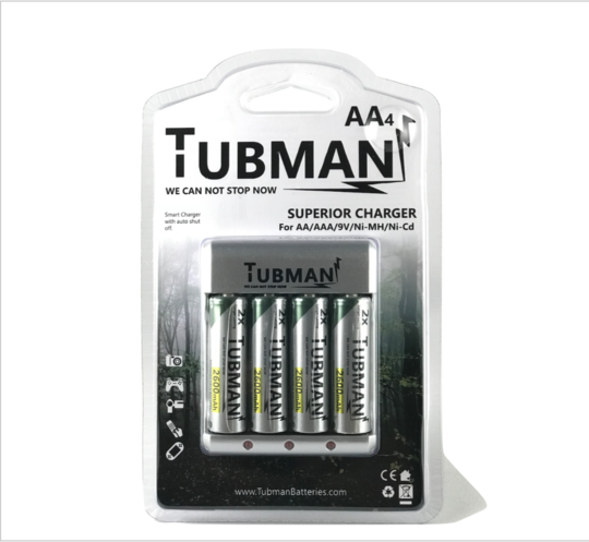 tubman batteries